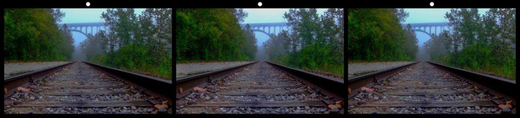 Fog & Tracks by Ursula Drinko, Broadview Heights, OH USA