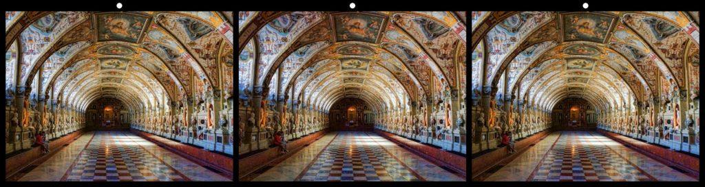 Munich Palace Antiquarium by David Kuntz, Rancho Palos Verdes, CA USA