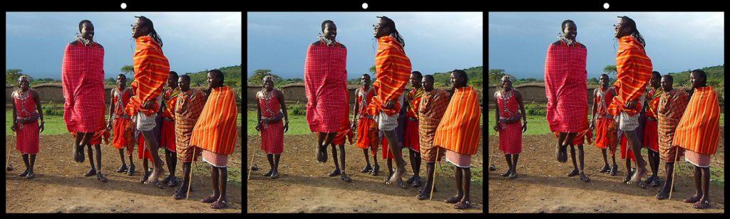 Masai Dancers by Robert Leonard, Deale, MD USA